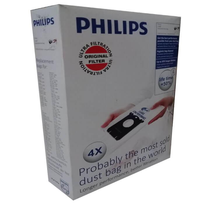 کیسه جاروبرقی فیلیپس مدل ORGINAL FILTER بسته ۴ عددی