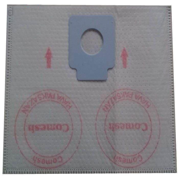 کیسه جاروبرقی کومش مدل ۰۲ بسته ۴ عددی مناسب برای جاروبرقی ناسیونال