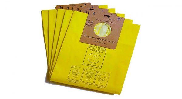 پاکت جاروبرقی سامسونگ و صنام همتا 3 بسته 5 عددی