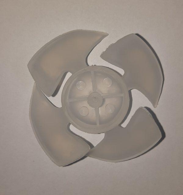 پروانه سشوار چهار پره ملخی*قطر2.5 میلیمتر* (شیری جدید)